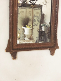Antique french mirror  bridal