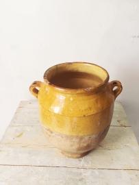 Antieke confit pot