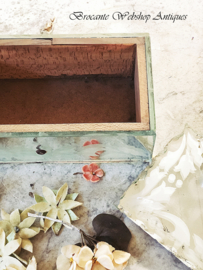 Old french mirror box