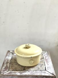 French antique paté pot