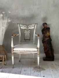 French antique directoire fauteuil