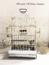 Unique french bird cage