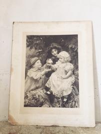 Antieke Arthur J Elsley print/ Antique Arthur J Elsly print