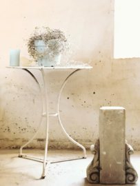 French white bistro table