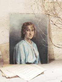 Frans portret - pastel-