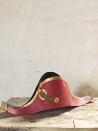 Antieke zinken Napoleon steek/ Antique sinc Napoleon bicorn hat