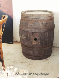 French antique wine barrel  XL SIZE