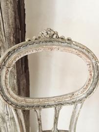 Frans antiek strik stoeltje/ Antique french  bow chair