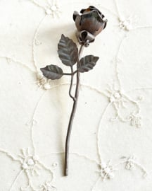 Wrought iron rose