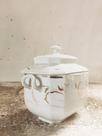 French sugar pot