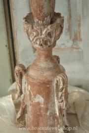 Antieke franse kerkkandelaar VERKOCHT