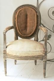Franse médaillon fauteuille Louis XVI
