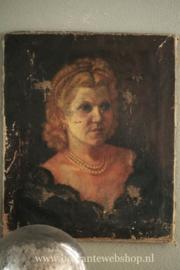 Antiek frans portret VERKOCHT