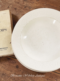 Set of 3 old plates