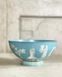 Metal tin bowl 1960s