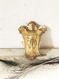 Antique bois doré fragment