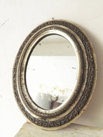 Franse or blanc spiegel/ French or blanc mirror