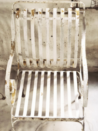 Franse chateau garden fauteuil