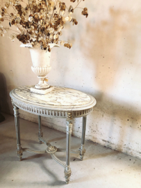 Antieke ovale tafel - Louis XVI -