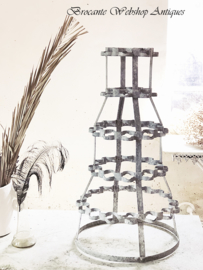 French sinc bottle/ wine rack