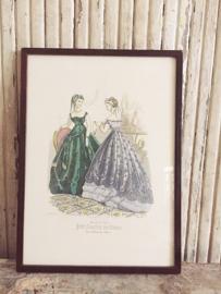 Framed boudoir print