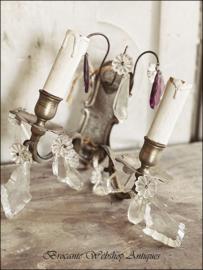 Franse wand chandelier