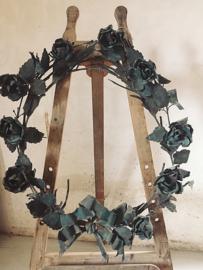 XXL franse bloemenkrans/ XXL french flower wreath