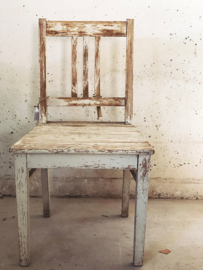 Old french child chair