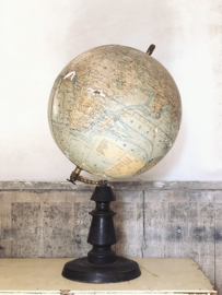 Antique globe PARIS
