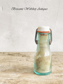 Old small glass bottle
