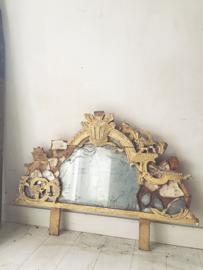 Antiek frans spiegel ornament/ Antique french mirror ornament