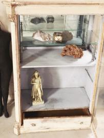 Antiek franse display hoeden vitrine
