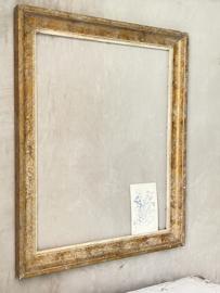 Big old french antique frame