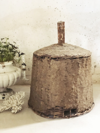Antique french beehive