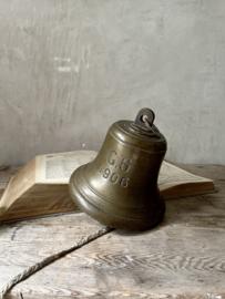Antique bronze ship bell