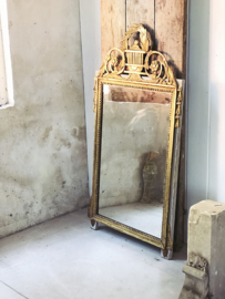 Antique french HUGE bridal mirror