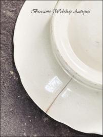 Oude serveerschaal/bord