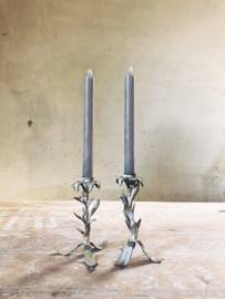 Set of two french candle sticks