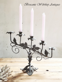 Set of 2 french candle holders