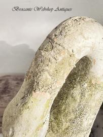 Antieke terra cotta zwaan