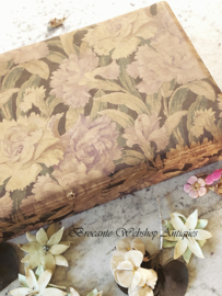 French fabric box