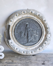 Antique plaque from France