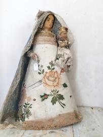 Antieke franse wassen pop/ Antique french wax doll