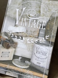 Vintage paint  - Jeannedarcliving hardcover boek