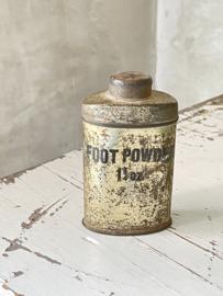 Foot powder busje