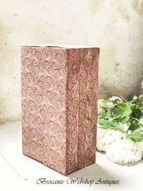 French fabric box