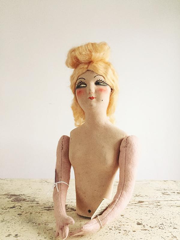 Sofa doll body