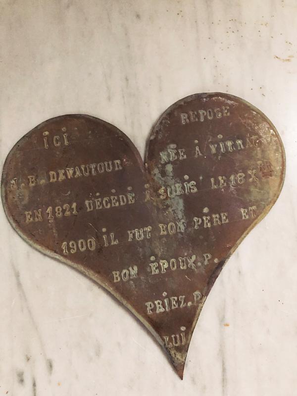 Bronzen hart