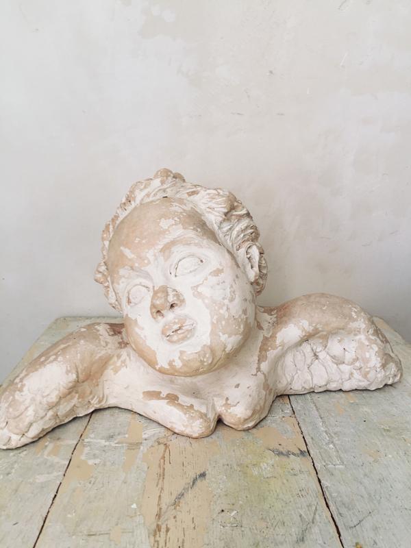 Oude franse engel