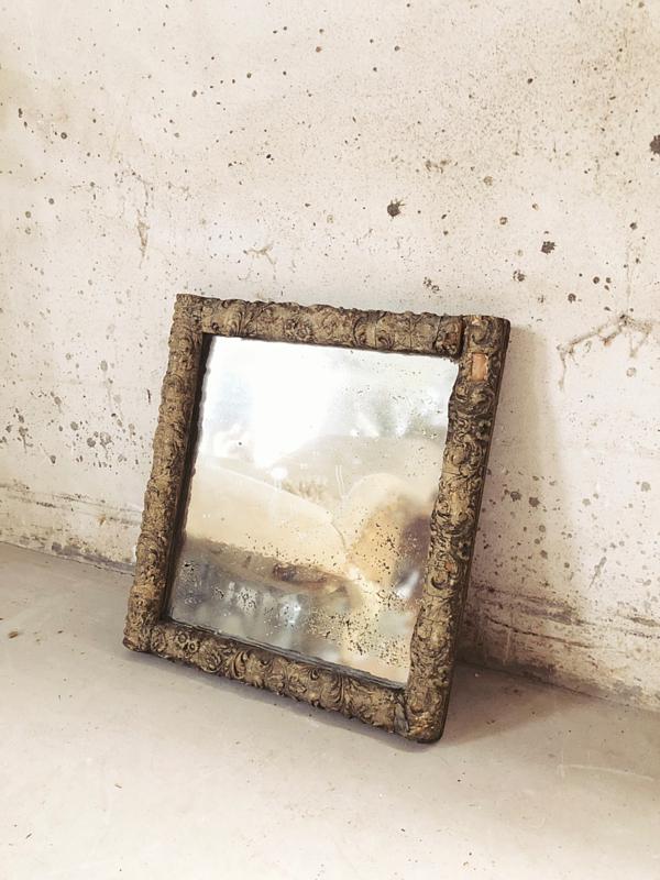 Antieke Brocante Spiegel.Antieke Franse Spiegel Spiegels Lijstjes Schilderijen